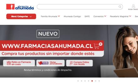 Farmacias Ahumada lanza su propio canal de  e-commerce