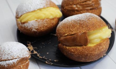 Pastelería Ñancupil & Sanhueza : La reinvención de los berlines: Doble relleno
