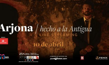 Éxito arrollador de ventas del primer streaming de Ricardo Arjona desde su tierra natal