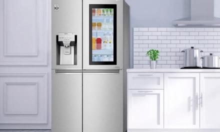 Descubre la última tecnología en refrigeradores que te permite ver todo en su interior con dos simples golpes