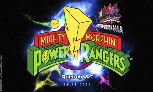 Reebok lanza una colección de los Power Rangers inspirada en los 90