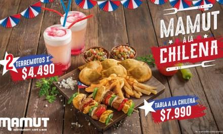 El restaurante de G&N Brands se cuadró con las tradiciones chilenas y durante septiembre dispondrá de este trago y preparaciones con lo más seleccionado del recetario nacional.