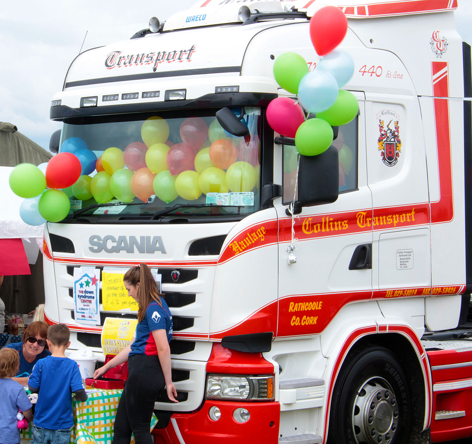 The Ossory Truck Show in party mood!