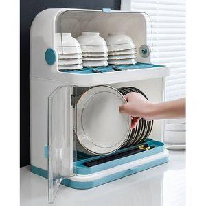 elegant 2 tier plastic rack with cover