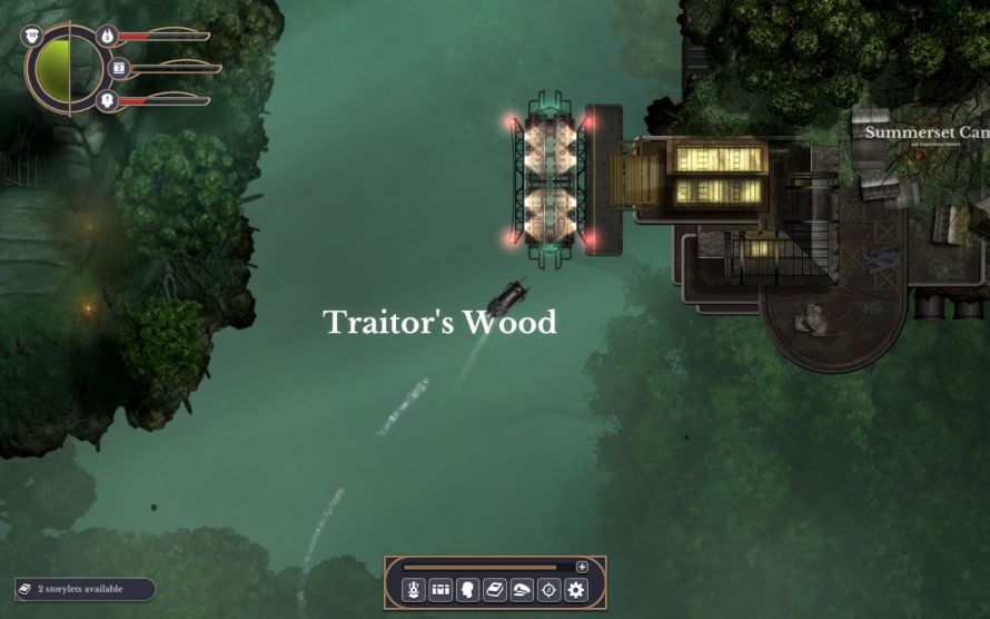 Sunless Skies Traitor's Wood