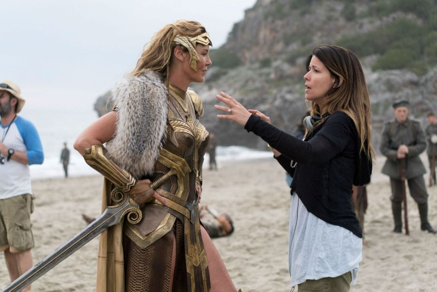 "Connie Nielsen na planie ""Wonder Woman"""