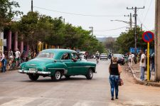 In the street of Viñales