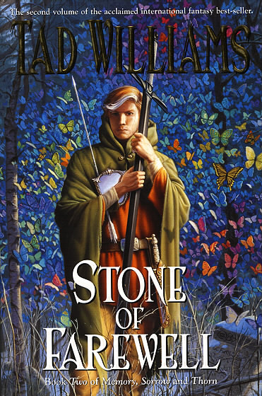 """Michael Whelan painted the covers for the US and UK editions of """"Memory, Sorrow and Thorn""""."""