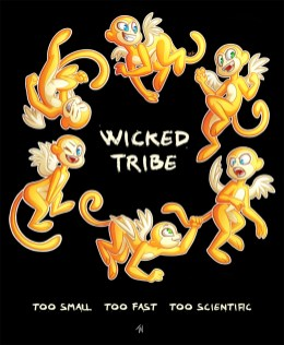 Wicked Tribe tshirt art jpg