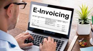 What is an e-invoice?