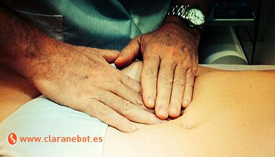 Tratamiento de osteopatía para la endometriosis