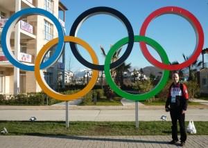 Ed in Sochi