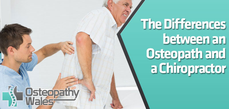 The Differences between an Osteopath and a Chiropractor