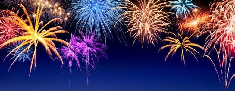 godt nytt år  raketter