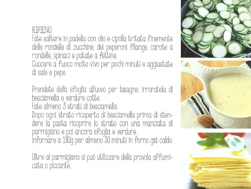 lasagnette alle verdure – ricetta