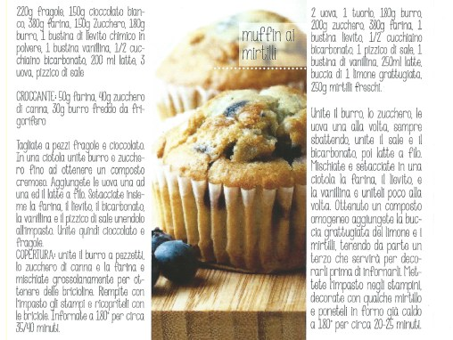 muffin ai mirtilli