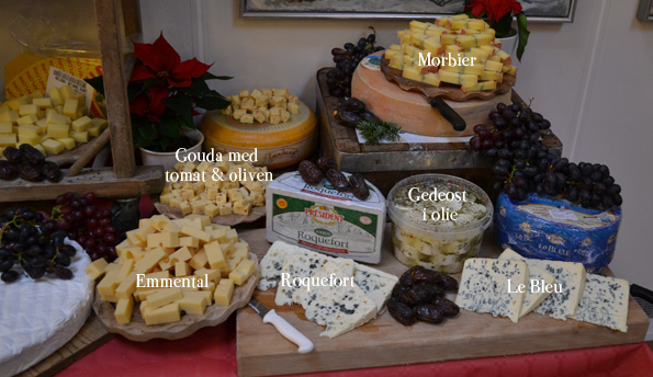 Og endnu endnu flere oste...