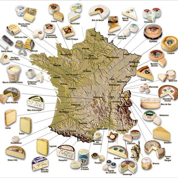 Franske oste