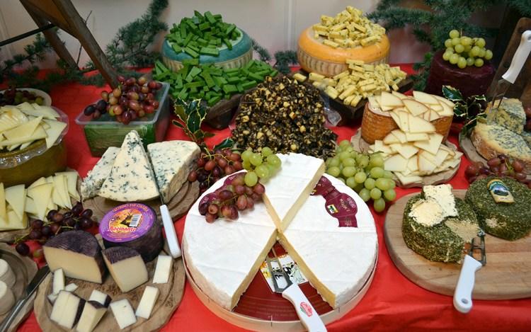 Julens ostebord