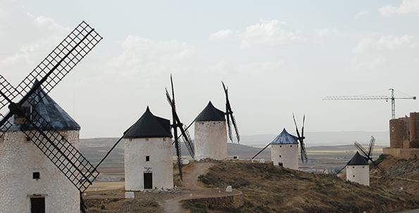 La Manchas vindmøller