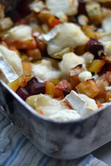 Rodfrugter og gedeost