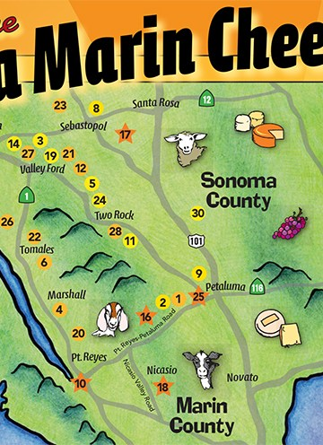 Sonoma Marin Cheese Trail