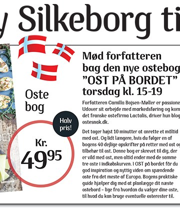Ostesnak i Kvickly Silkeborg