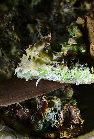 Broccolitærte med ost
