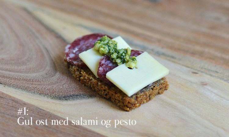 Humleost med salami