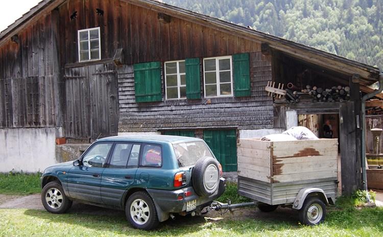 Hytte i Alperne