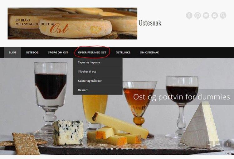Opskrifter med ost