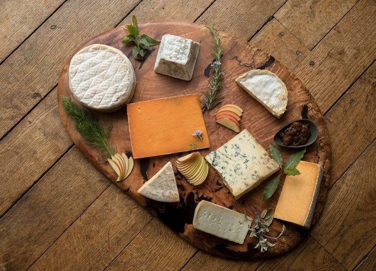 Cheese Journeys board