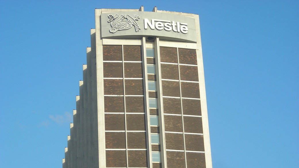 Nestlé-Turm in Croydon, London