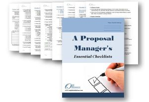 A Proposal Manager's Essential Checklists