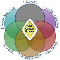 OST 6 Areas of Capture Shown as a Venn Diagram, with the customer circle grayed out.