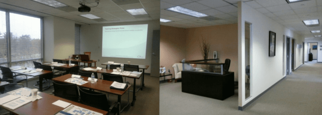 GovCon Incubator meeting and class rooms in Rockville, MD