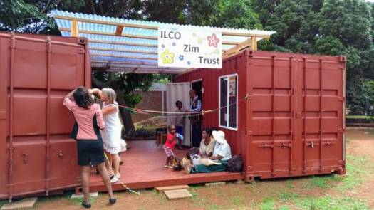 Ostomy Centre in the Containers