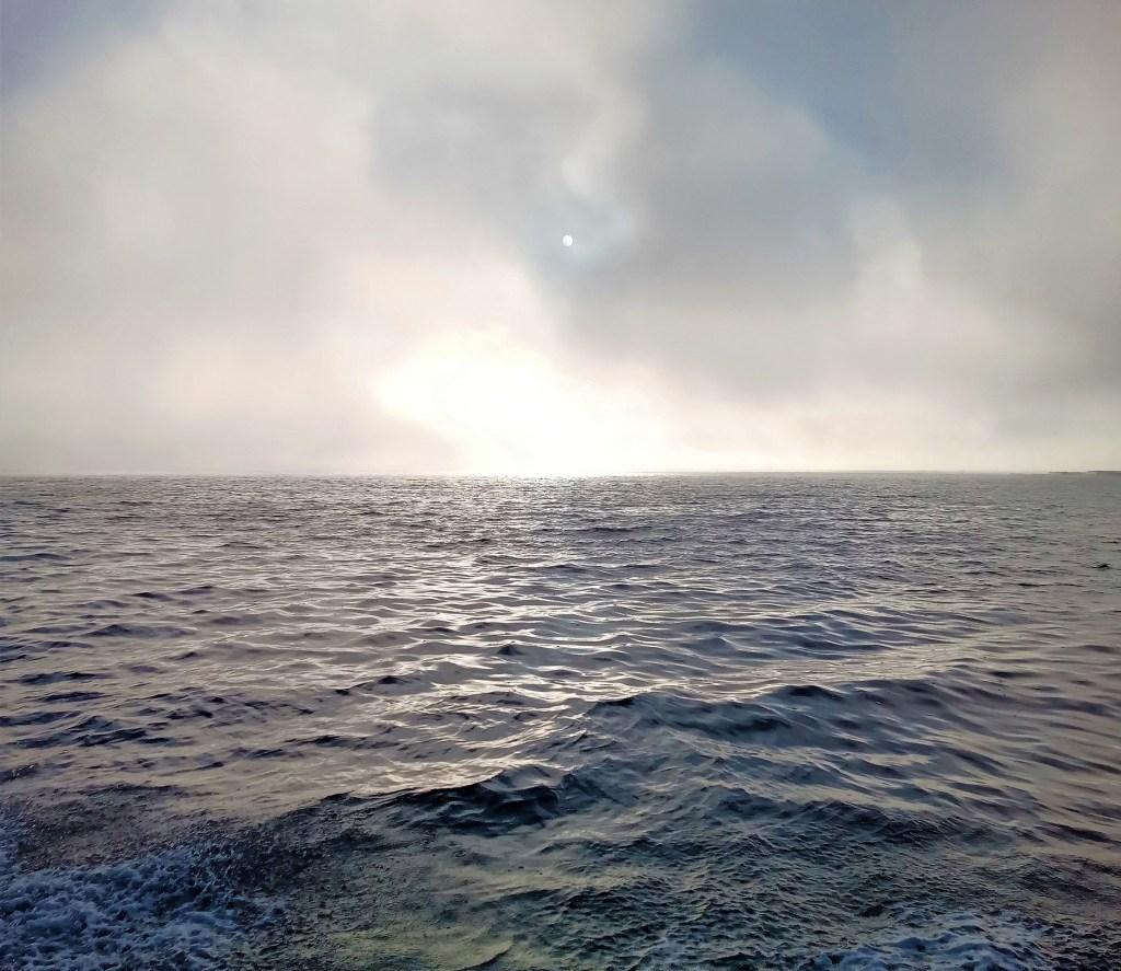 soleil dans le brouillard