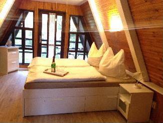 Ostsee Ferienhaus Finnhütte mieten – Nähe Halbinsel Fischland Darß Zingst