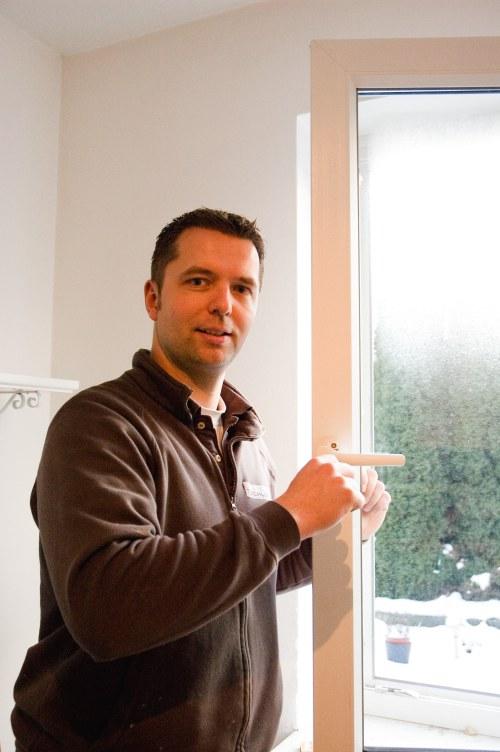 Experte in Sachen Fenster: Malte Kromrei
