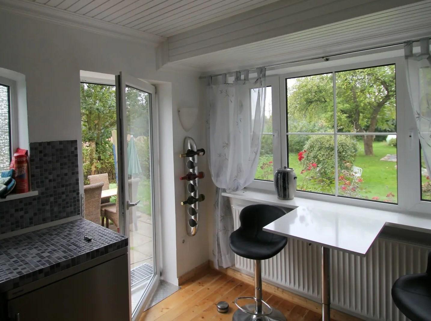 Ferienhaus kiek-ut 1 Küche