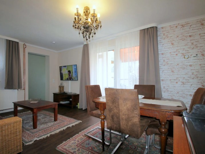 Ferienhaus kiek-ut 2 Wohnzimmer