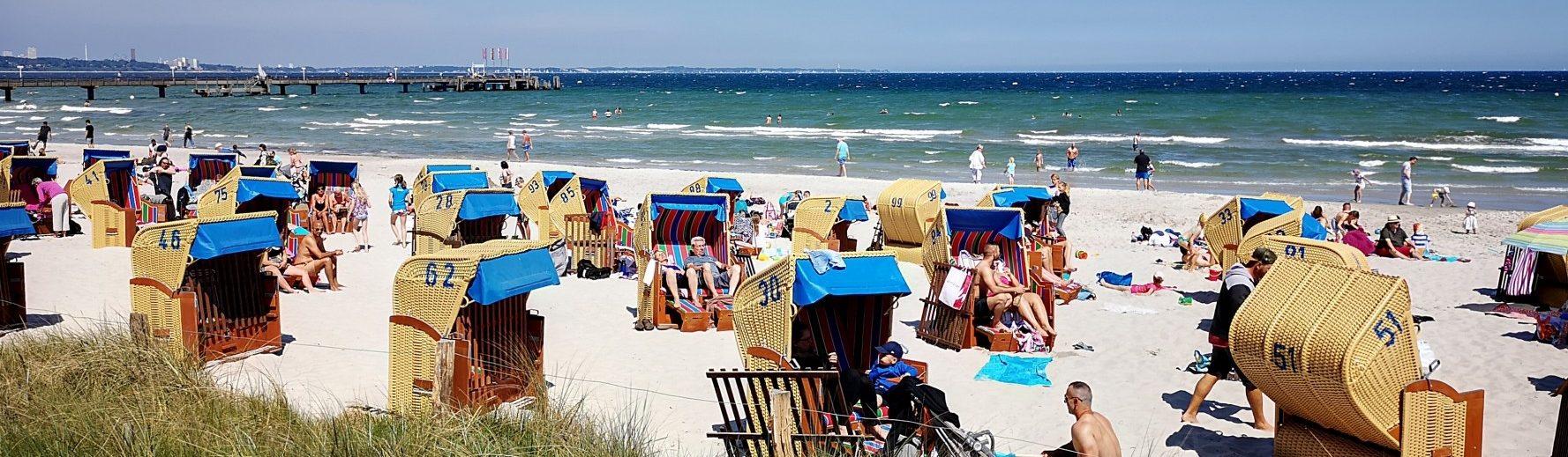 Ostsee Ferienhaus Haffkrug Strand 3