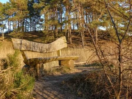 bank-wald-gnitz Halbinsel Gnitz (Usedom) 🇩🇪 Urlaubsorte