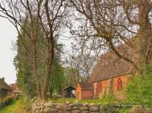 Halbinsel-Gnitz-Kirche-seitlich Usedom Fotograf