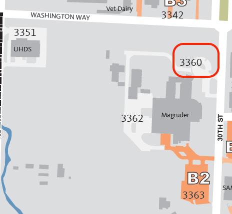 Parking Lot #3360 area map