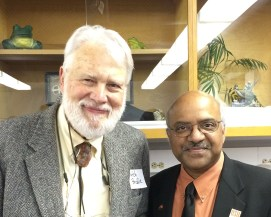 Butch Brody and Sastry Pantula at the Storm Lecture, March 11, 2016