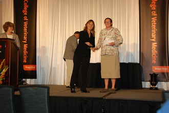 AAAP Foundation Poultry Scholarship - Sue Tornquist, Denise Apperson