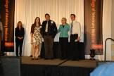 Oregon Veterinary Medical Association Memorial Scholarship - Morgan Damm, Mr. Glenn Kolb, Dr. Jean Hall, Andrew Cone