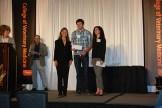 College of Veterinary Medicine Service Award - Sue Tornquist, Treven Tryon, Danielle Daw